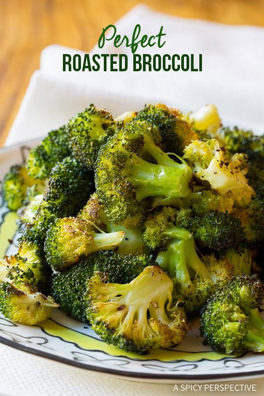 Perfect Roasted Broccoli | 25+ Broccoli Recipes