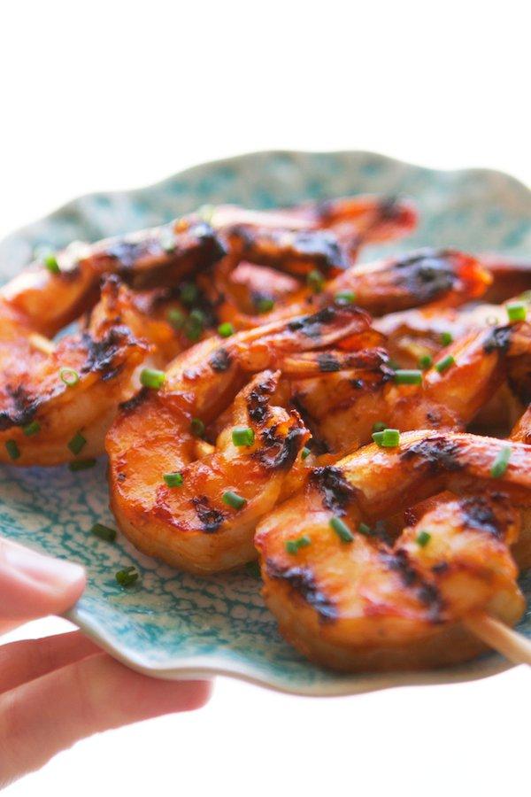 brazilian style peel and eat shrimp with fried garlic camarao ao alho ...