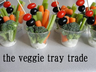 The Veggie Tray Trade | 20+ Cute Fruit & Veggie Trays