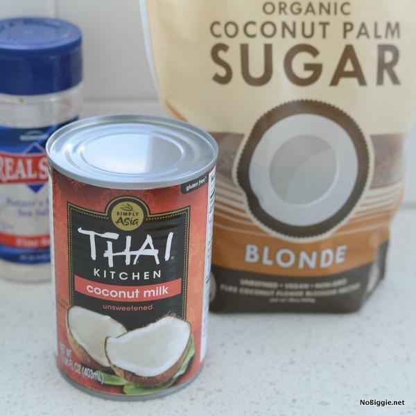 ingredients for salted caramel | NoBiggie.net