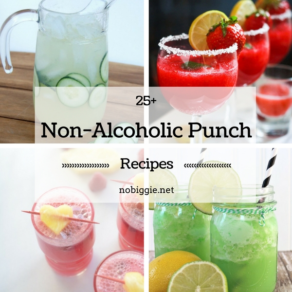 25+ Non-Alcoholic Punch Recipes