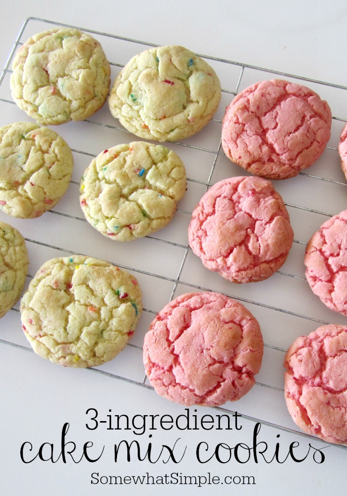 Best Recipe For Cookies Made From Cake Mix