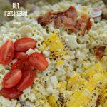 Summer BLT pasta salad video recipe   NoBiggie.net