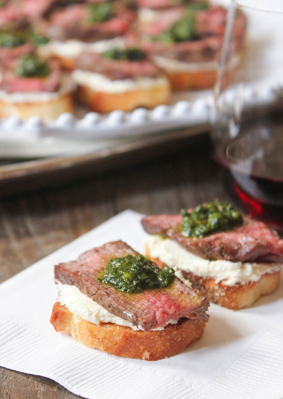 Beef Tenderloin Crostini | 25+ Ways to Top Toast