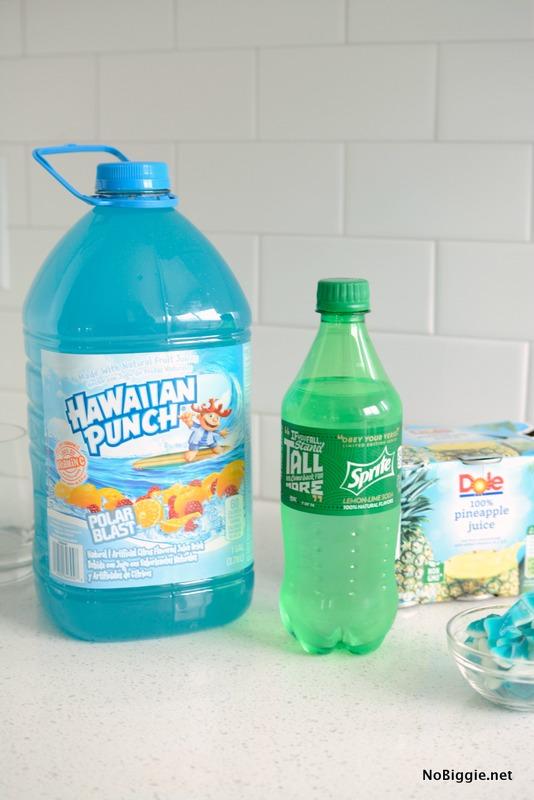 Blue Ocean Party Punch ingredients | NoBiggie.net