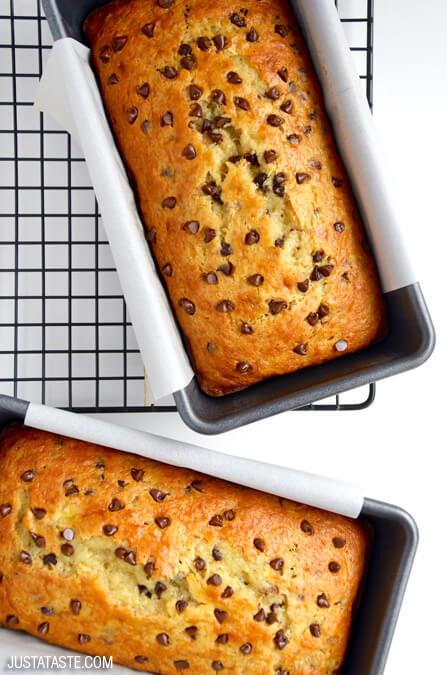 Chocolate Chip Cake Mix Banana Bread | 25+ cake mix recipes