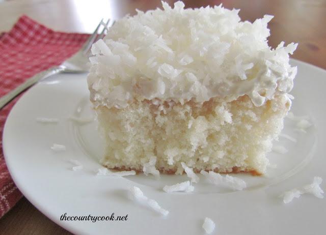 Coconut Cream Poke Cake | 25+ Poke Cake Recipes