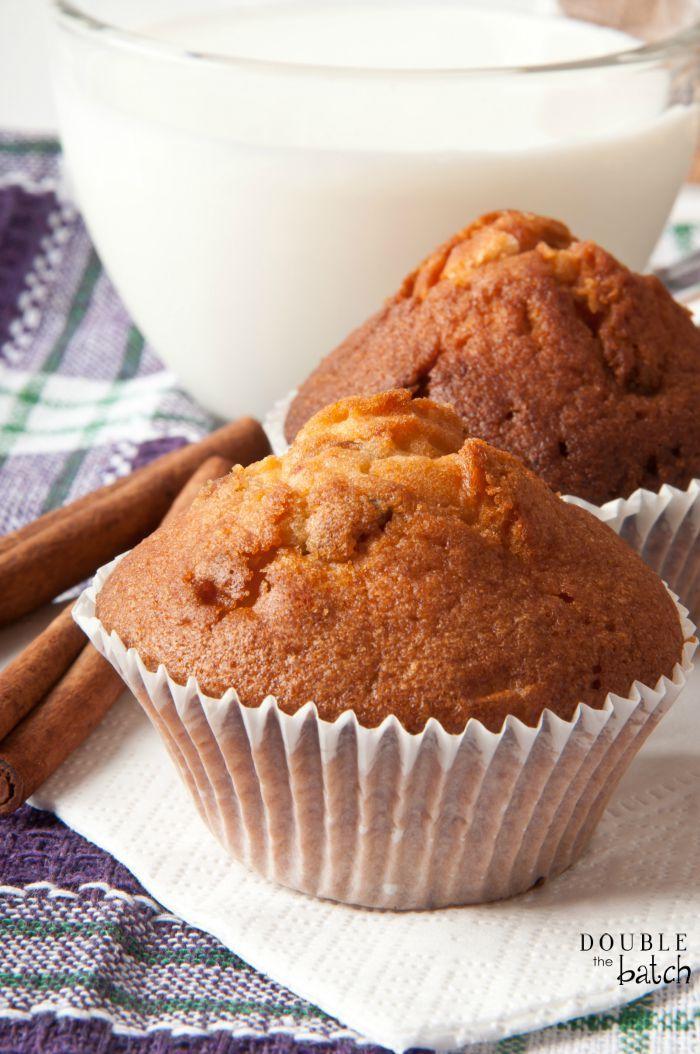 Easy 2-ingredient Pumpkin Muffins | 25+ cake mix recipes
