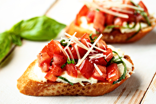 13. Balsamic Strawberries & Goat Cheese Crostini | Cooking For Keeps