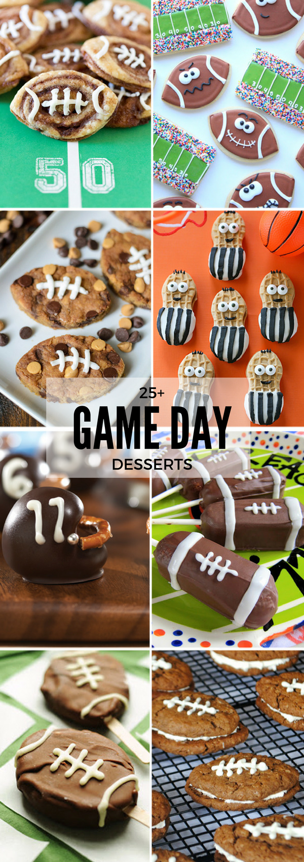25+ Game Day Desserts | NoBiggie.net