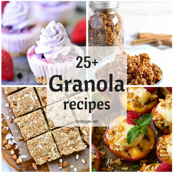 25+ Granola recipes | NoBiggie.net