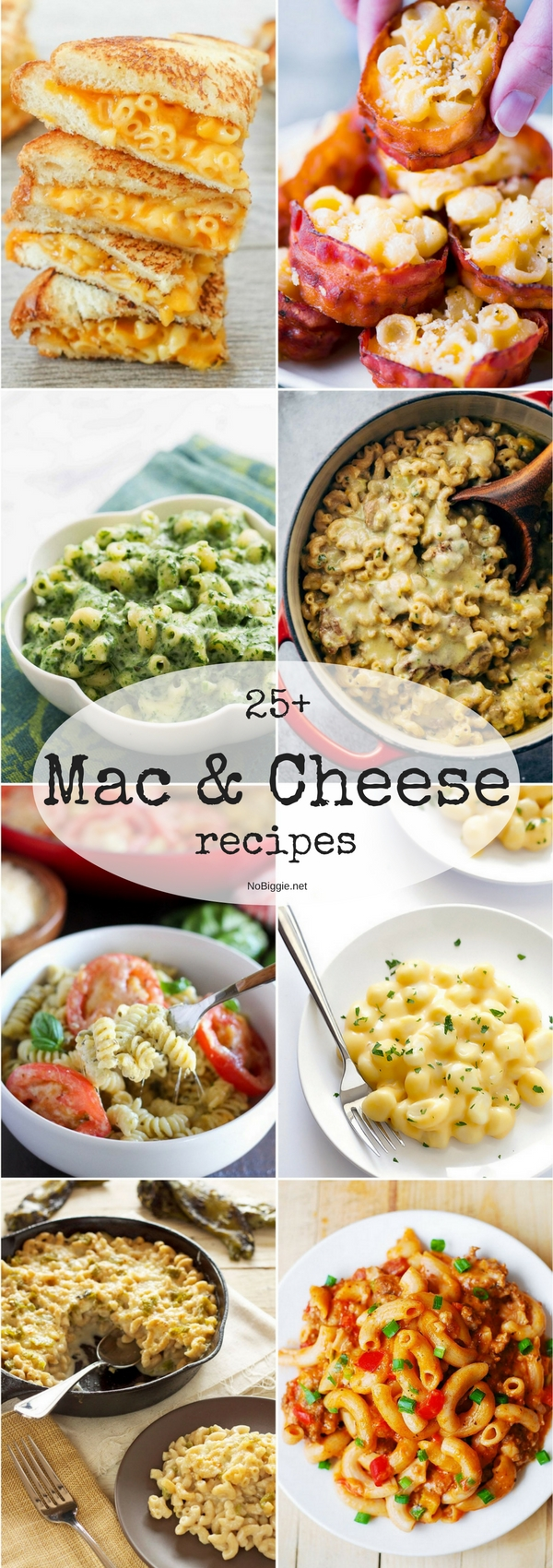 25+ Mac and Cheese Recipes | NoBiggie.net