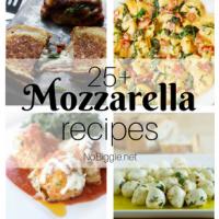 25+ Mozzarella Cheese Recipes