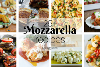 25+ Mozzarella Cheese Recipes