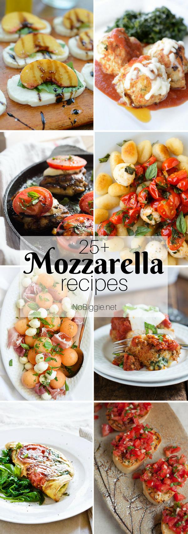 25+ Mozzarella Recipes   NoBiggie.net