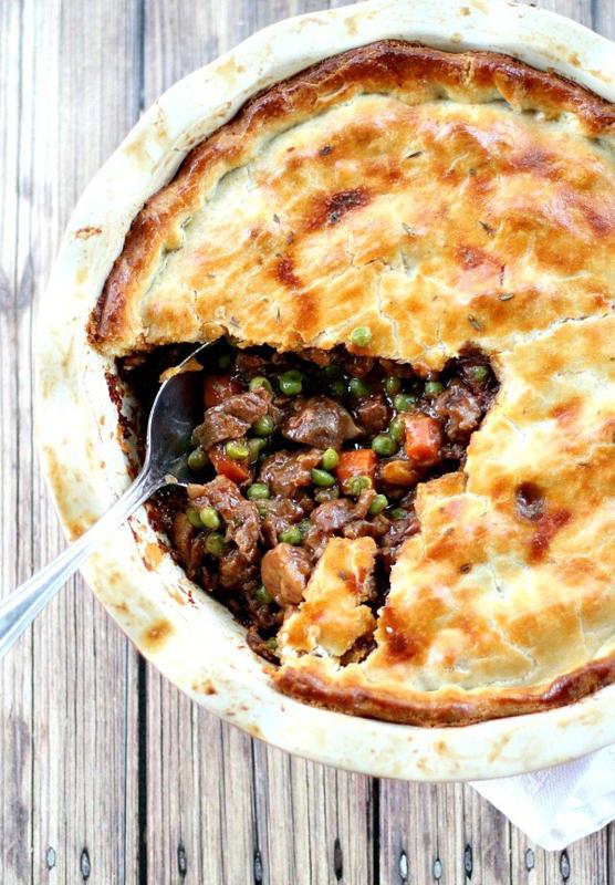 Beef Pot Pie   25+ Pot Pie Recipes