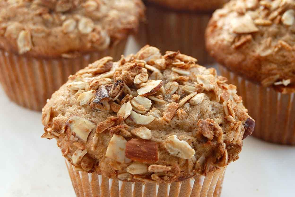 Buttermilk Granola Muffins| 25+ Granola recipes