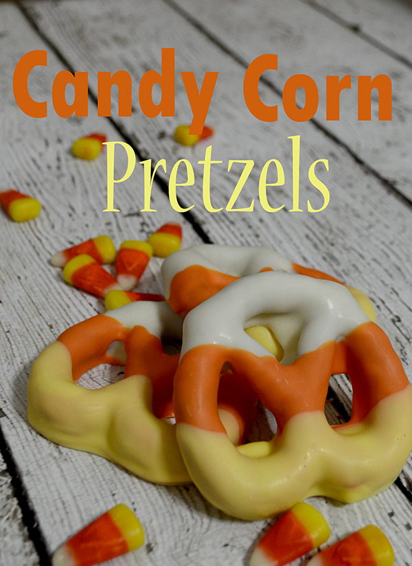 Candy Corn Pretzels | 25+ Candy Corn recipes