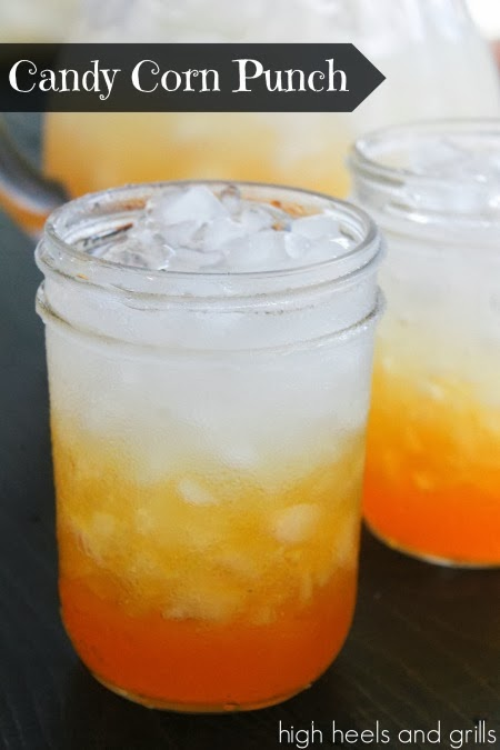 Candy Corn Punch drink | 25+ Candy Corn recipes