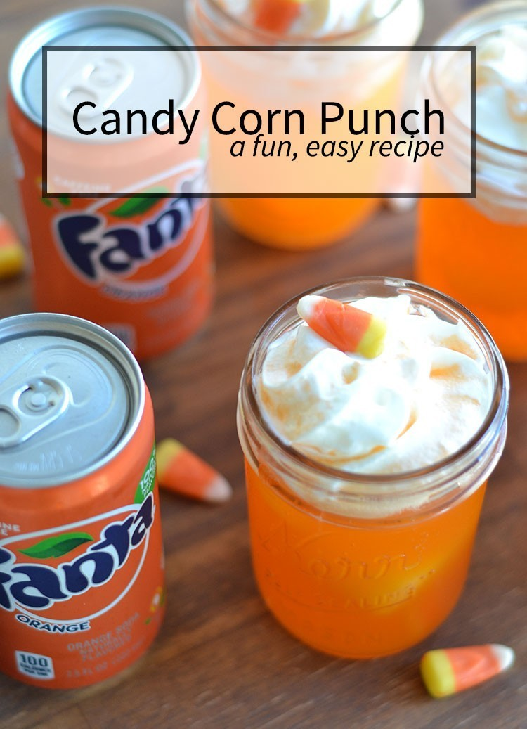 Candy Corn Punch | 25+ Candy Corn recipes