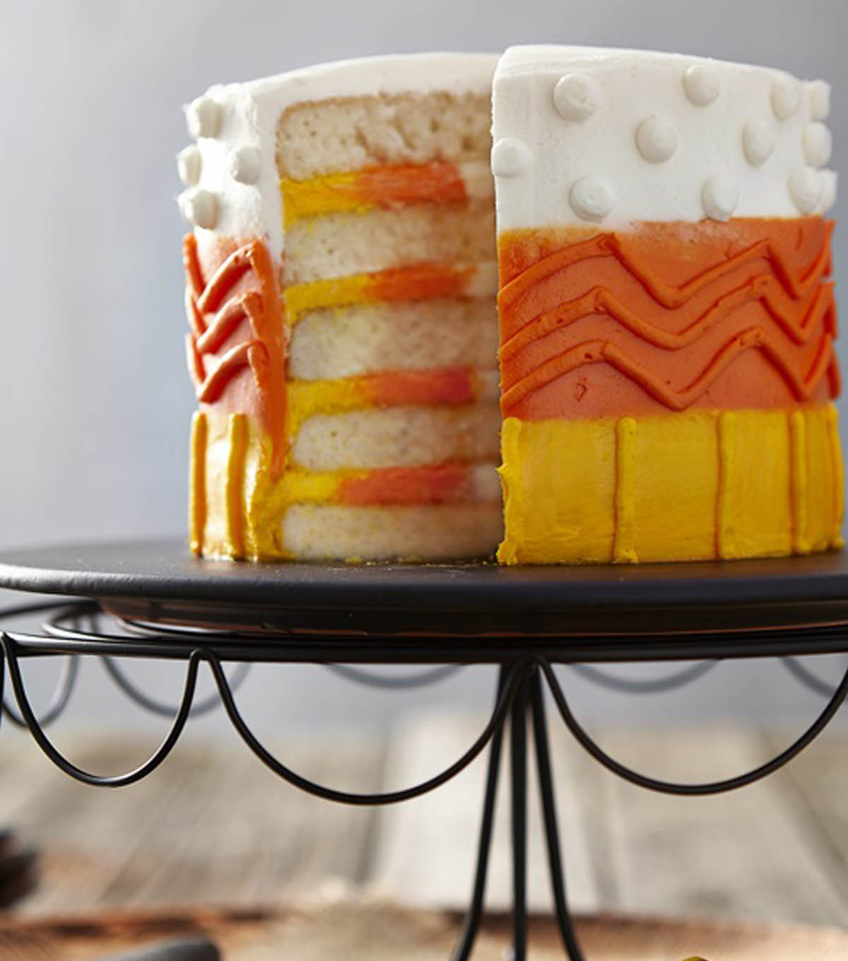 Color It Candy Corn Cake | 25+ Candy Corn recipes