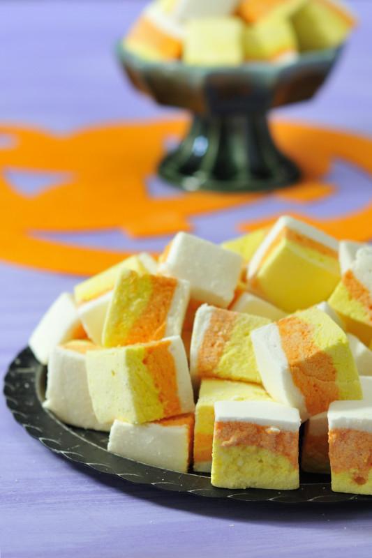 DIY Candy corn Marshmallows | 25+ Candy Corn recipes