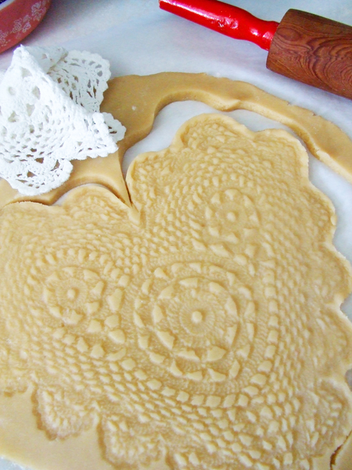 Dolly Pie Crust Cookies | 25+ Decorative Pie Crust Ideas