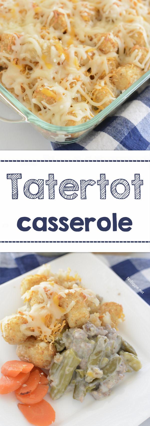 Easy Tatertot casserole | NoBiggie.net