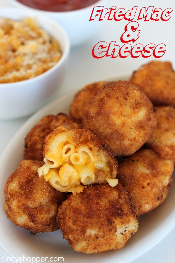 Fried Mac and Cheese | 25+ Mac and Cheese Recipes