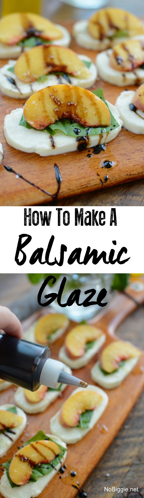 how to make a balsamic glaze | NoBiggie.net