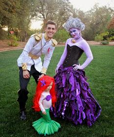 Little Mermaid | 25+ Creative Family Costumes