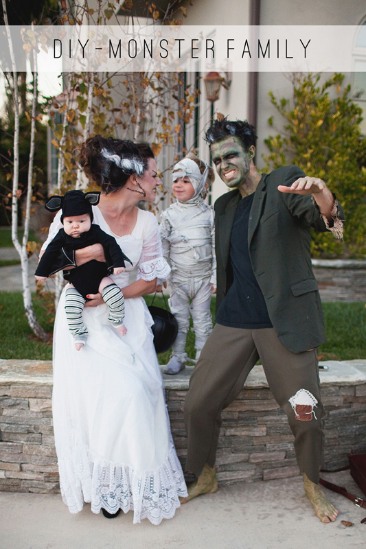 Monster Family | 25+ Creative Family Costumes