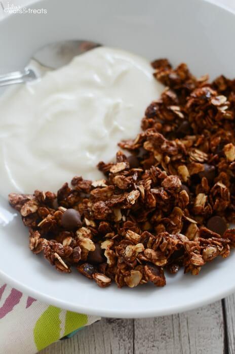 Nutella Granola | 25+ Granola recipes