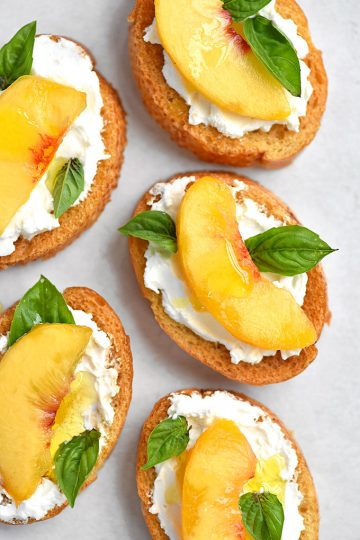 25+ Peach Recipes
