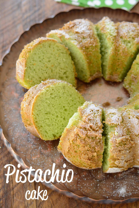 Pistachio Cake | NoBiggie.net