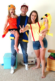 Pokemon | 25+ Creative Family Costumes