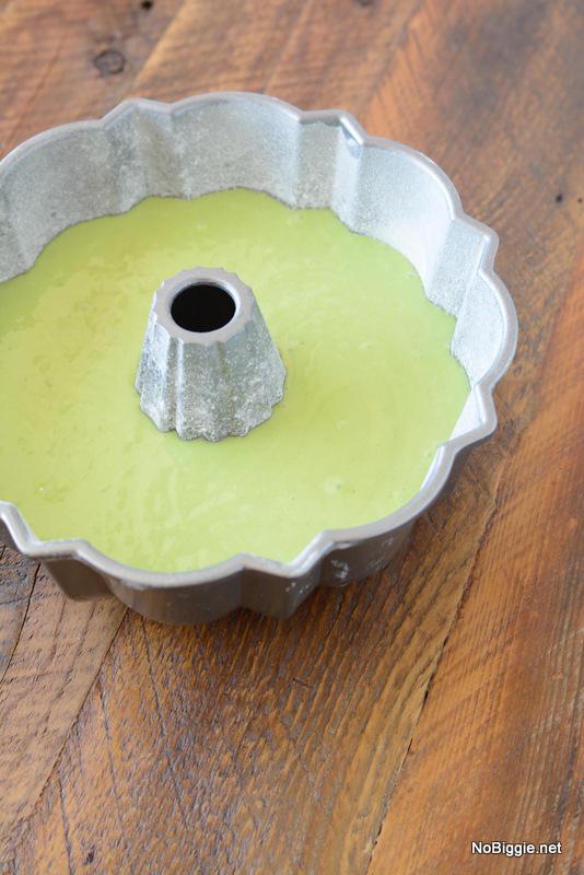 pour into bunt pan | NoBiggie.net