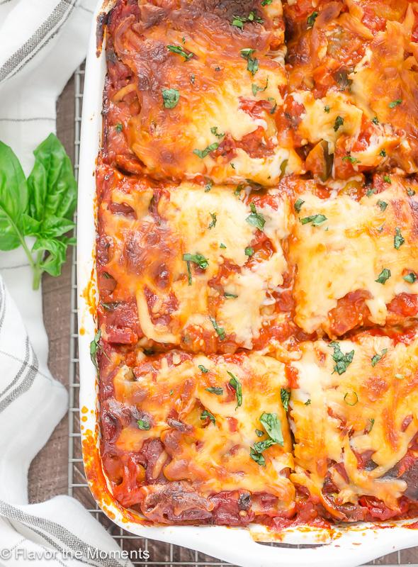 Ratatouille Lasagna   25+ Mozzarella Recipes
