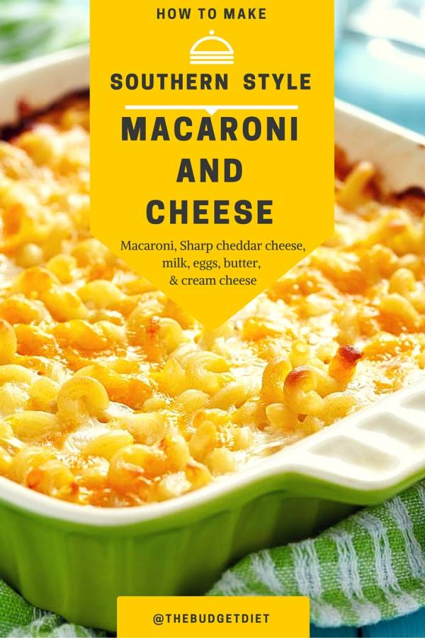 Southern Baked Macaroni and Cheese | 25+ Mac and Cheese Recipes