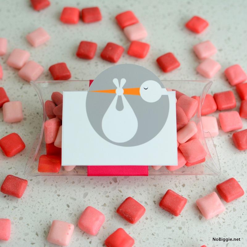 storks gift tag printable | NoBiggie.net