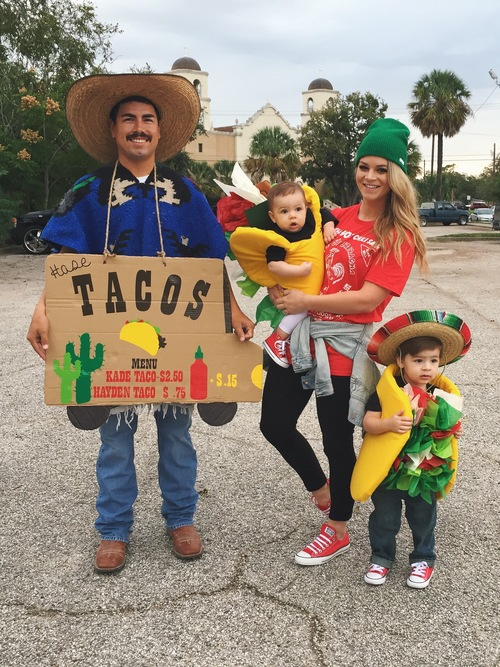 Tacos | 25+ Creative Family Costumes