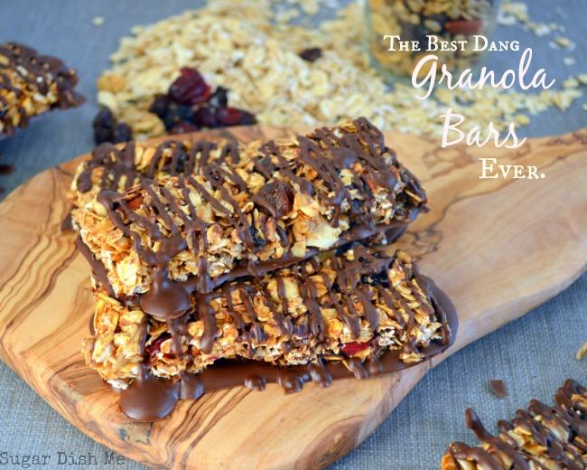 The Best Dang Granola Bars Ever | 25+ Granola recipes