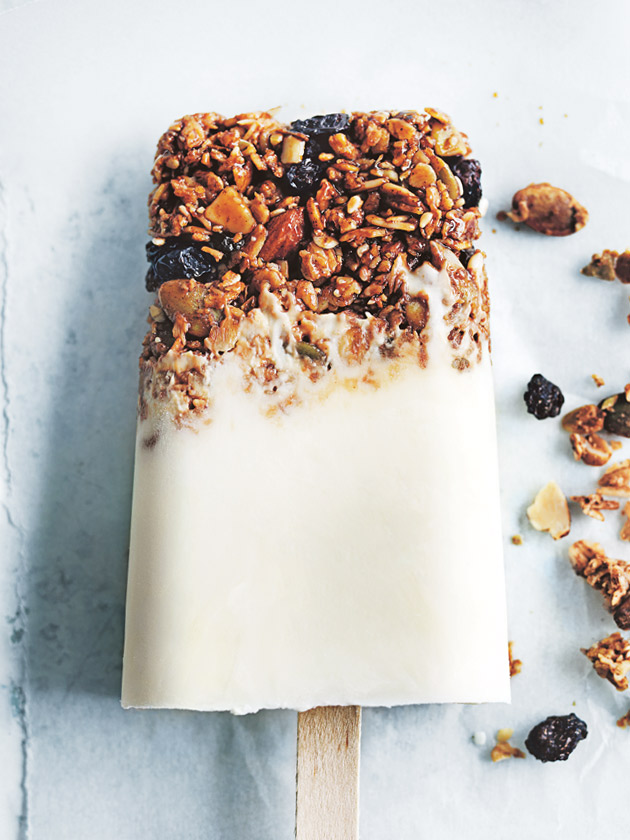 Yoghurt Granola Popsicles | 25+ Granola recipes