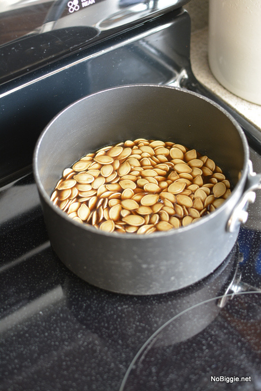 boil the pumpkin seeds | NoBiggie.net