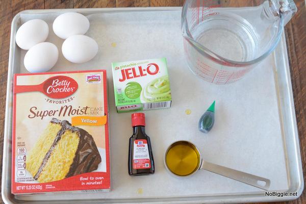 ingredients for pistachio cake   NoBiggie.net