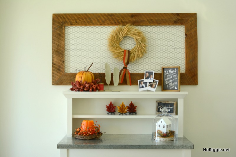 simple fall decor | NoBiggie.net