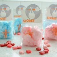 Storks Treat Bag Toppers
