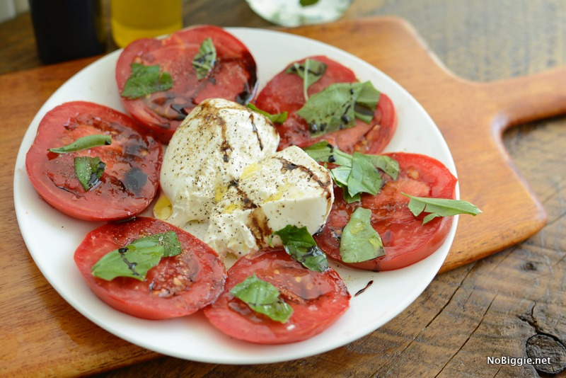 tomato caprese salad | NoBiggie.net