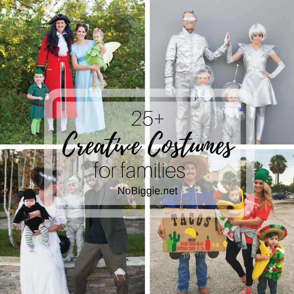 25+ Creative costumes for Families | NoBiggie.net