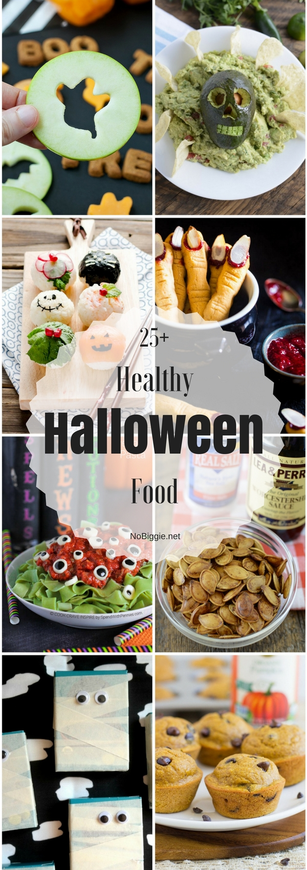 25+ Healthy Halloween Food | NoBiggie.net